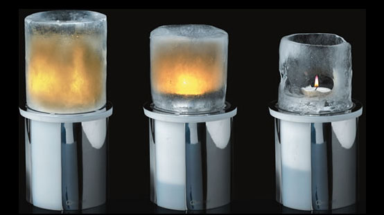 Original Christmas Decoration – Ice Candle by Mathmos