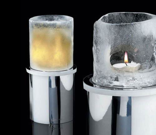 Original Christmas Decoration Ice Candle By Mathmos