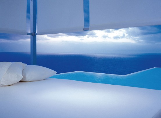 Outdoor White Daybed By Gandia Blasco