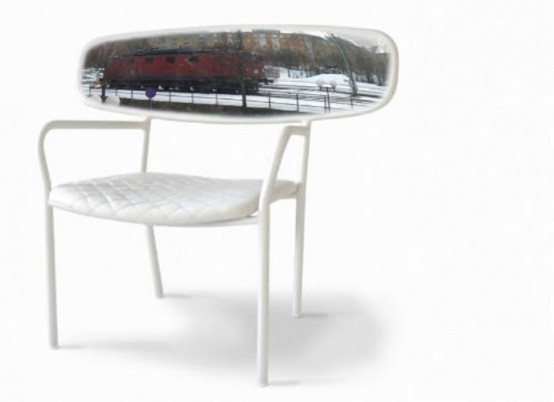 A Chair With A Panorama
