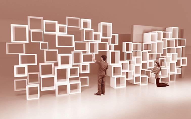 Parametric Bookshelves