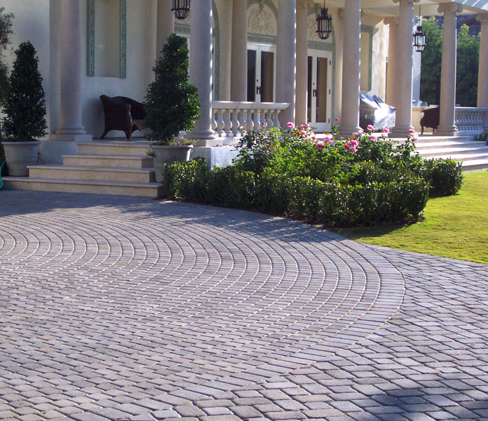 15 Paving Stone Driveway Design Ideas | DigsDigs on Patio Paver Design Ideas id=59290