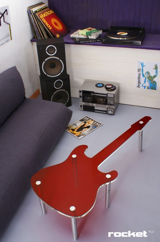 Rocket An Awesome Furniture Collection For Rock N Roll Fans DigsDigs
