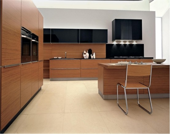 Sensual And Modern Kitchen Design Seta Class By Ged Cucine