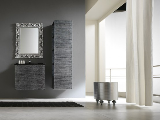 Simple And Modern Bathroom Cabinets Piquadro 2 By BMT