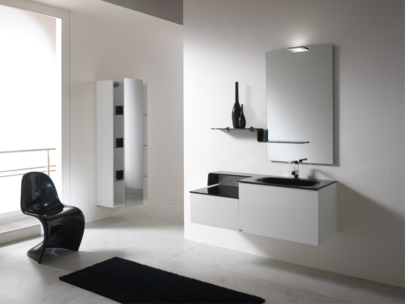 Simple and modern bathroom cabinets piquadro 2 by bmt digsdigs - Decoratie zen badkamer ...