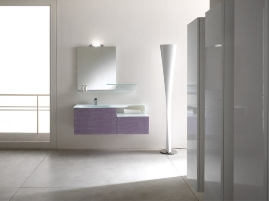 white bathroom, black and white bathroom furniture, BMT, compact bathroom design, furniture for small bathroom, Italian bathroom, minimalist  cabinets, minimalist  furniture,modern  cabinets, modular  furniture