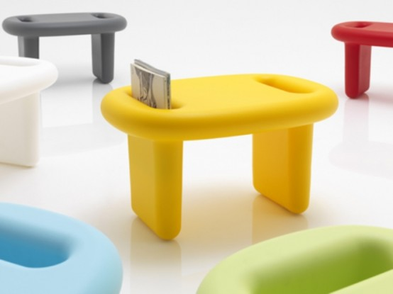 Modern Bright Plastic Furniture For Indoors And Outdoors