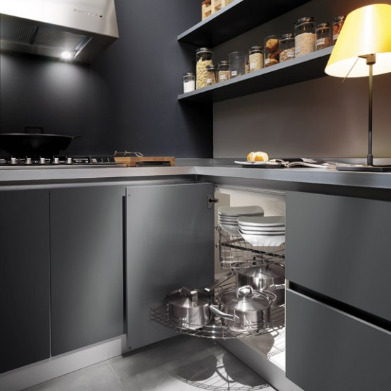 Stylish Grey Kitchen Inspiration By Ernestomeda