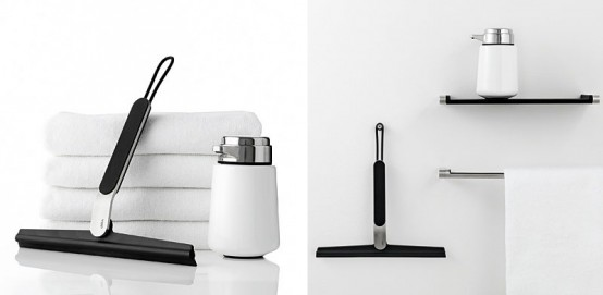 Stylish Shower Wiper for Easy Bathroom Cleaning from VIPP