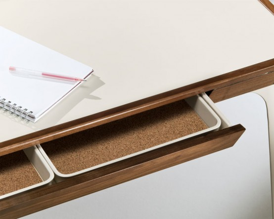 Stylish Work Desk For Modern Home Office From Kaijustudios Digsdigs