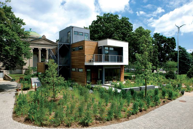 The Smart Home 2010 Renovated Chicago S Greenest House DigsDigs