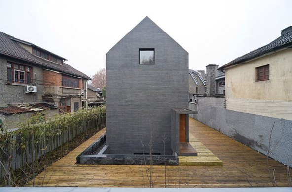 Interior design collection minimalist house with concrete for Concrete minimalist house