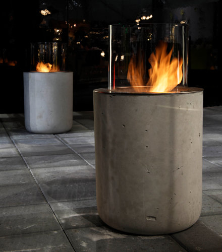 The Best Outdoor Decorations Modern Outdoor Fireplaces