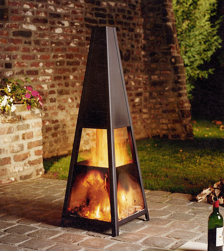 Modern Outdoor Fireplaces The Best Outdoor Decorations Digsdigs