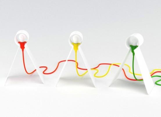 Tweety Table Lamp By Giorgio Bonaguro