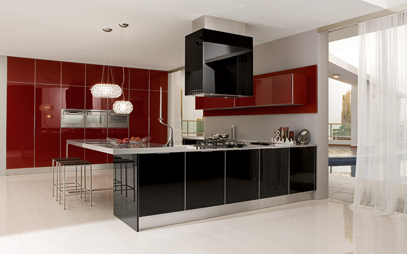 Ultra modern glossy kitchen judy by futura cucine digsdigs for Contemporary kitchen