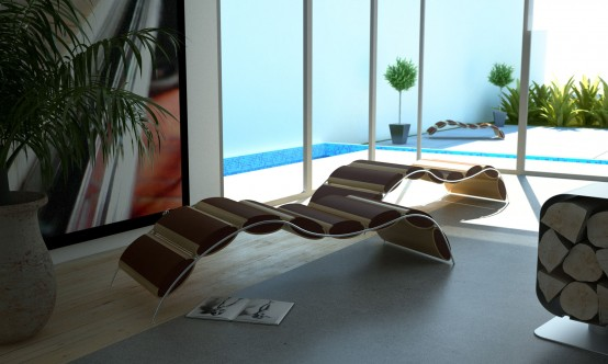 Unique Chaise Lounge – Jouba by Answerdesign