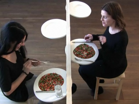 Very Creative Dining Table For Small Room A Very Slim Table By Nilly Landao