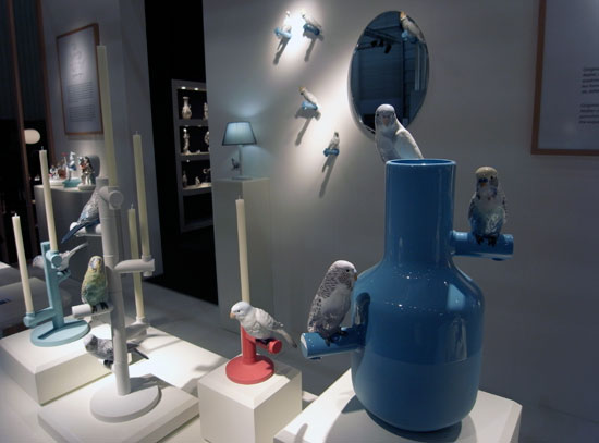 Very Nice Decorations For Modern Interior Design The Parrots Party By Lladro