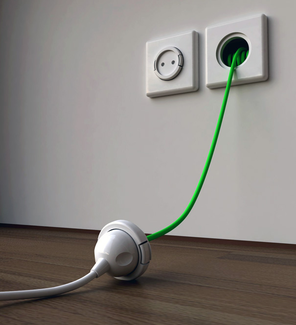 Very Practical Wall Socket – Rambler Socket by Meysam Movahedi