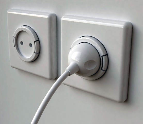 Very Practical Wall Socket Rambler Socket By Meysam Movahedi