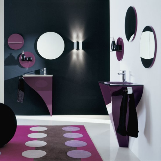 Very Elegant Modern Furniture for Small Bathroom – Happy by Novello