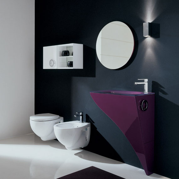 Very Elegant Modern Furniture For Small Bathroom  Happy By Novello