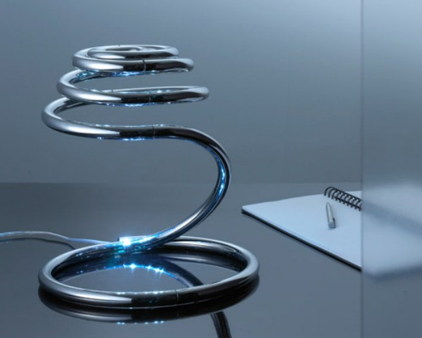 Very Flexible Modern Table Lamp – PizzaKobra by Ron Arad
