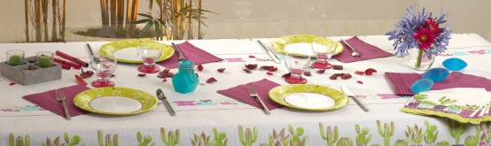 Very Nice Tableware For Summer Picnic By Tifany Industries