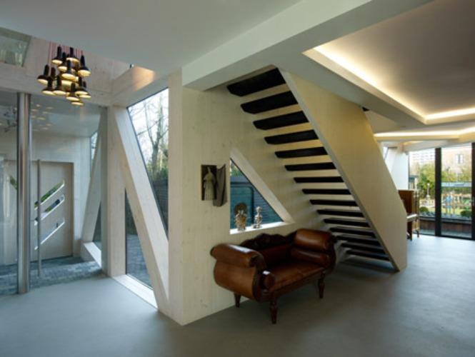 Geometric Form In Interior Design Villa with geometric forms