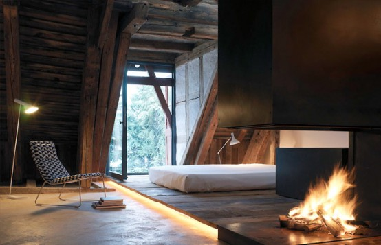 House Where Modern and Rustic Interior Designs are Mixed – Vorstadt 14