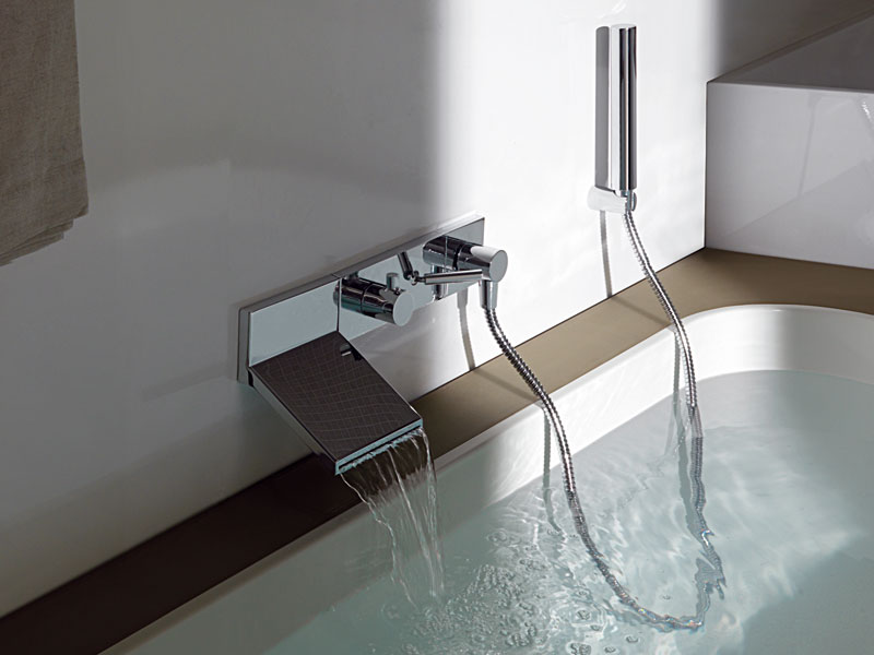 Wall Mount Waterfall Faucet for Stylish Bathroom by Zucchetti ...