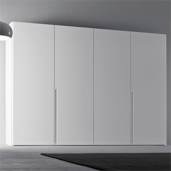 White Wardrobe For Minimalist Interior Design Orizzonte