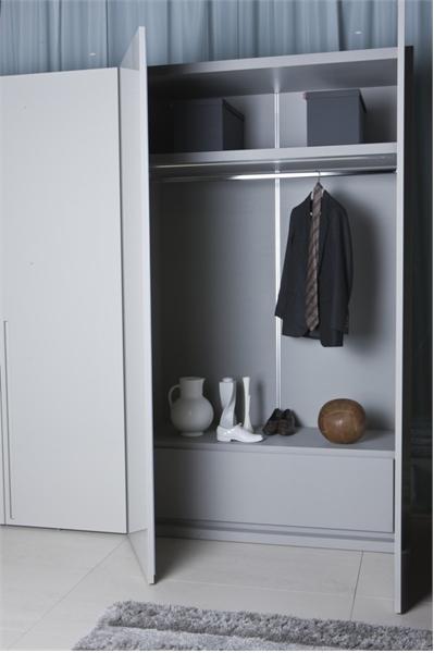 White Wardrobe For Minimalist Interior Design Orizzonte And Tratto By Pianica