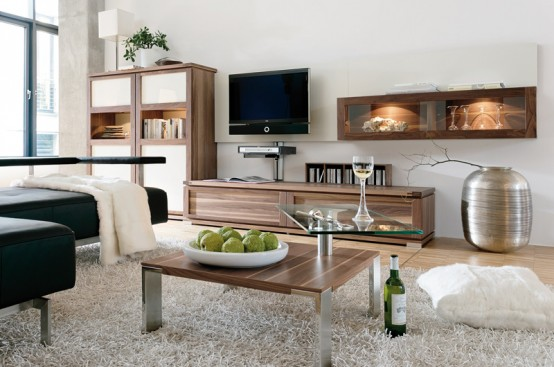 Wood Coffee Table With Swing Out Top CT 100 By Huelsta