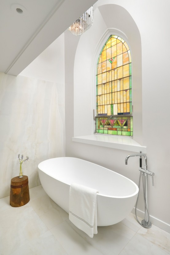 A Church Transformed Into A Eye Catching Minimalist Home