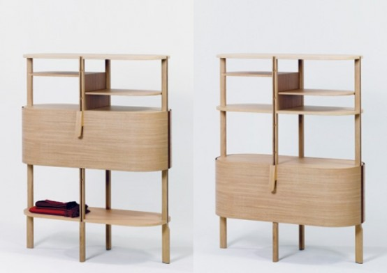 A Cross Between A Shelf And Sideboard Etage By Moritz Schmid