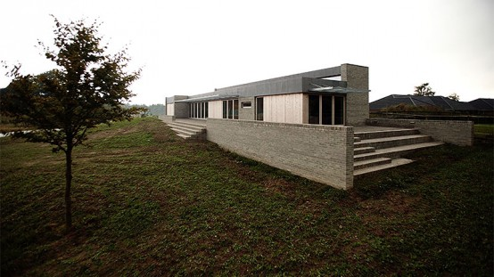 A Single-Family House Overlooking Fields and Fyn Beech Forest