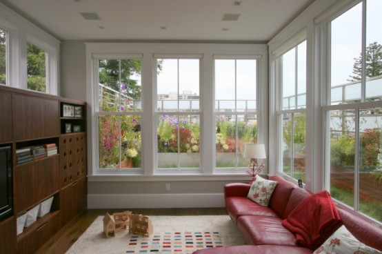 75 awesome sunroom design ideas digsdigs for Living room picture window ideas