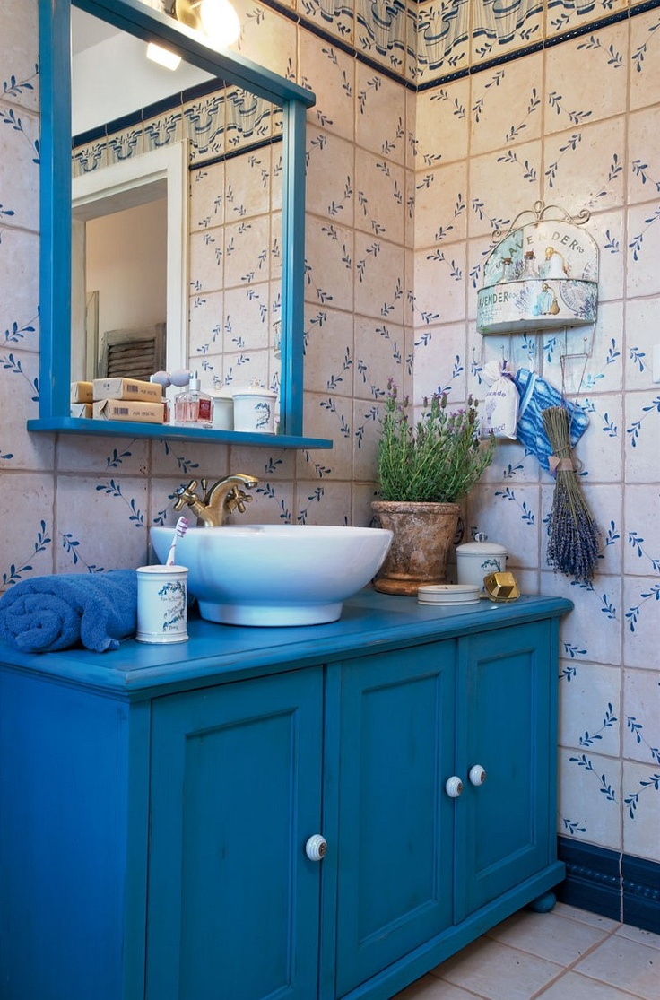 Picture of absolutely charming provence bathroom decor ideas for Provence bathroom design