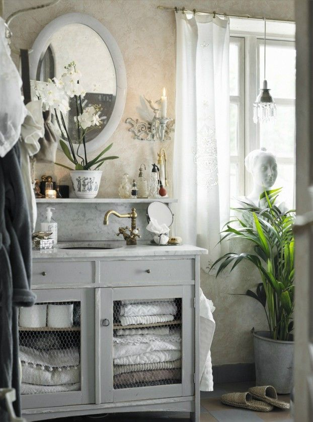 22 Absolutely Charming Provence Bathroom Décor Ideas ...