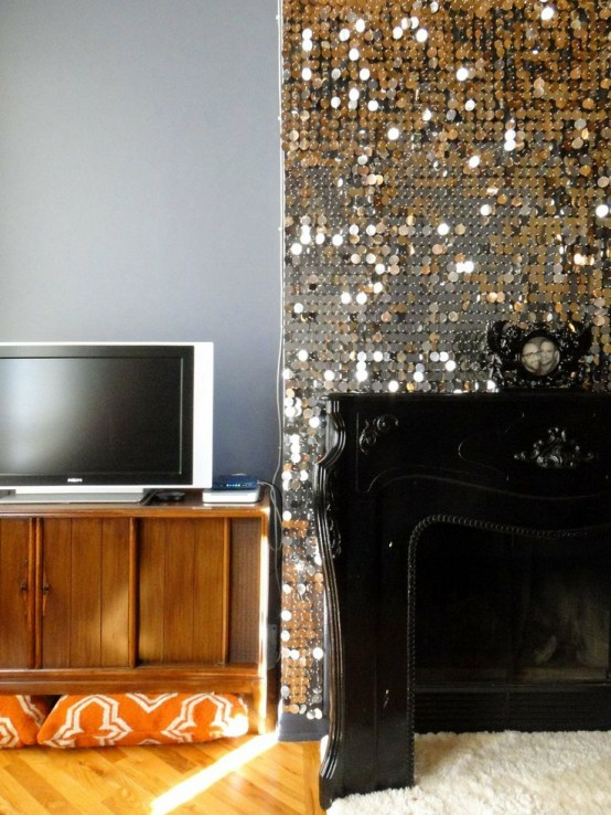 Adding glam touches 31 sequin home decor ideas digsdigs - Home decor ideas images ...