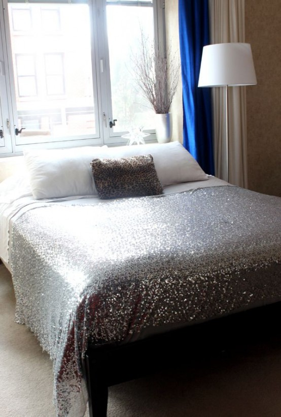 Adding Glam Touches 31 Sequin Home Decor Ideas Digsdigs
