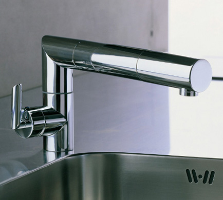 Adjustable Kitchen Faucet by Nobili - DigsDigs