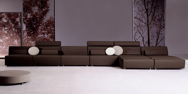 ADN – Contemporary Modular Sofa by JOQUER