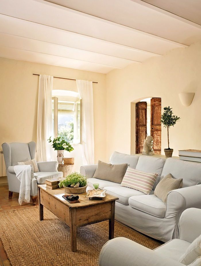 Romantic Living Room: Picture Of Adorable And Romantic Provence Living Rooms