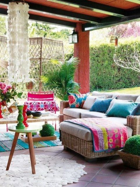 26 Adorable Boho Chic Terrace Designs