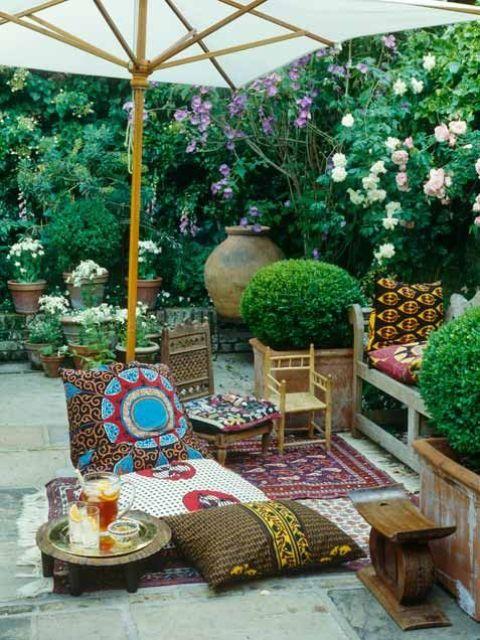 Adorable Boho Chic Terrace Designs