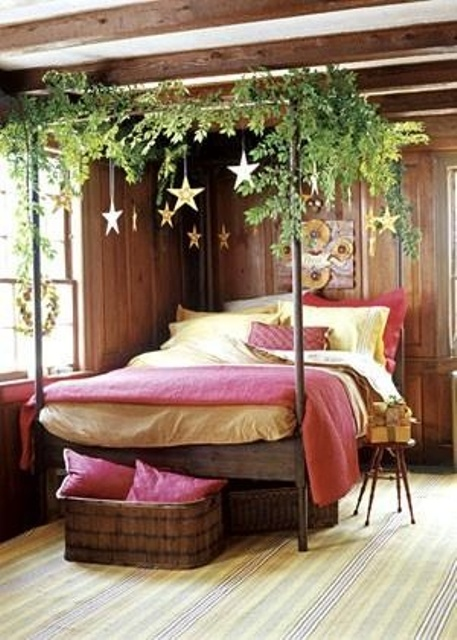 Attirant Adorable Christmas Bedroom Decor Ideas